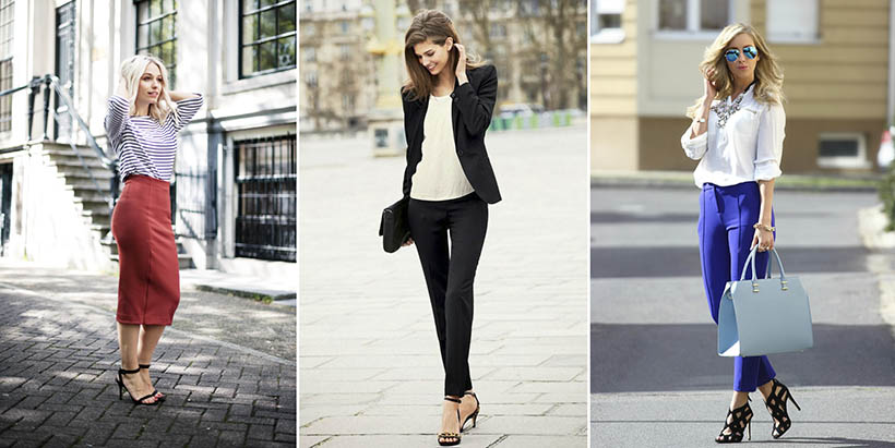Les tenues d'une Working-girl