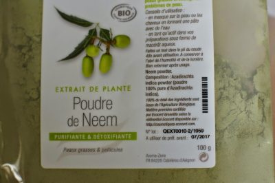 Les bienfaits de la poudre de neem
