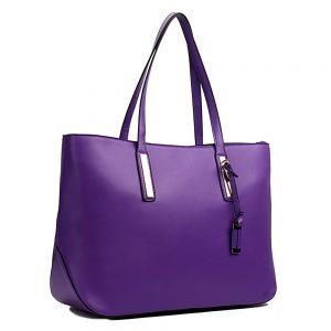 sac-cuir-violet