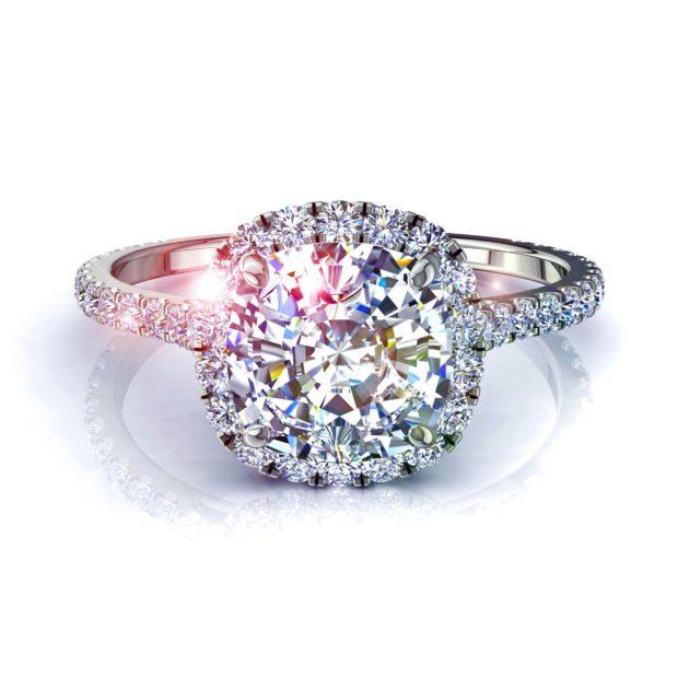 Bague de fiançailles : quelle forme pour le solitaire en diamant ?