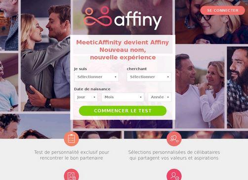 Que pensez de Affiny et des sites de rencontres ?