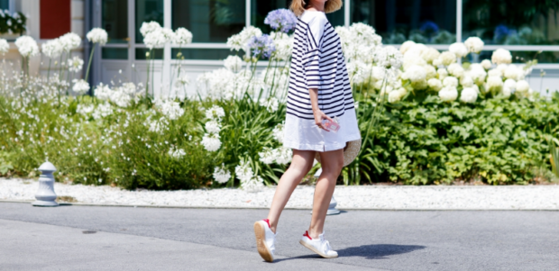 La robe marinière, une tendance vers le Printemps